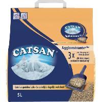 Litiere Minerale - Silice - Argile Litiere compacte - Pour chat -5L
