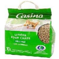 Litiere Minerale - Silice - Argile Litiere vegetale - Pour chat - 10L