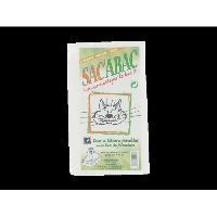Litiere Minerale - Silice - Argile OLISAC Sac'abac 12 sac a litiere pour chat