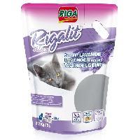 Litiere Minerale - Silice - Argile RIGA Litiere silice Doypack - Senteur lavande - 2.2 kg - 5 L