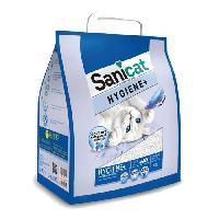 Litiere Minerale - Silice - Argile SANICAT Litiere Hygiene+ 10L - Pour chat