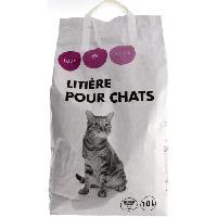 Litiere Minerale - Silice - Argile TOUS LES JOURS - Litiere - Pour chat - 10L