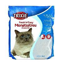 Litiere Minerale - Silice - Argile TRIXIE Fresh'n'Easy Granules. 3.8 l pour chat