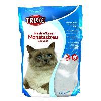 Litiere Minerale - Silice - Argile TRIXIE Fresh'n'Easy Granules. 5 l pour chat