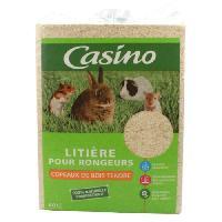 Litiere Vegetale - Fibre - Paille - Chanvre - Copeaux - Cellulose - Mais CASINO Litiere copeaux - Pour rongeur - (x1)