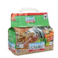 Litiere Vegetale - Fibre - Paille - Chanvre - Copeaux - Cellulose - Mais CAT'S BEST Litiere Performance - Pour chat - 2.3 kg
