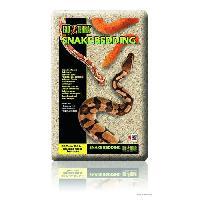 Litiere Vegetale - Fibre - Paille - Chanvre - Copeaux - Cellulose - Mais EXO TERRA Litiere Snake Bedding 26.4 L - Pour reptiles