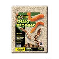 Litiere Vegetale - Fibre - Paille - Chanvre - Copeaux - Cellulose - Mais Litiere Snake Bedding 4.4 L - Pour reptiles