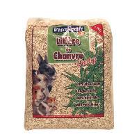 Litiere Vegetale - Fibre - Paille - Chanvre - Copeaux - Cellulose - Mais Litiere de Chanvre prestige 1 kg 10 L - Pour rongeur