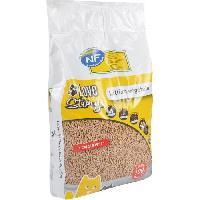 Litiere Vegetale - Fibre - Paille - Chanvre - Copeaux - Cellulose - Mais Litiere vegetale 7 L - Granules 100 fibres vegetales - Pour chat