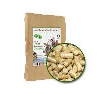 Litiere Vegetale - Fibre - Paille - Chanvre - Copeaux - Cellulose - Mais Litiere vegetale en granules de paille - Sac de 10Kg