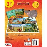 Livre D'eveil - Electronique - Interactif DISNEY GARDE DU ROI LION 12 figurines et un tapis de jeu - Livre cartonne de 10 pages - Editions Phidal - Generique