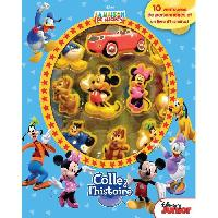 Livre D'eveil - Electronique - Interactif DISNEY MICKEY MOUSE Plus de 10 figurines a ventouse - Livre cartonne de 10 pages - Editions Phidal - Generique