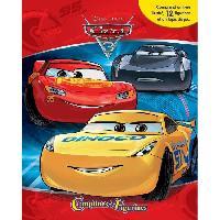 Livre D'eveil CARS 3 12 figurines et un tapis de jeu - Livre cartonné de 10 pages - Editions Phidal - Disney