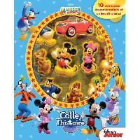 Livre D'eveil DISNEY MICKEY MOUSE Plus de 10 figurines a ventouse - Livre cartonné de 10 pages - Editions Phidal - Generique