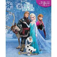 Livre D'eveil LA REINE DES NEIGES 12 figurines et un tapis de jeu - Livre cartonné de 10 pages - Editions Phidal - Generique