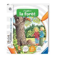 Livre Electronique - Interactif Enfant Livre J'explore la Foret