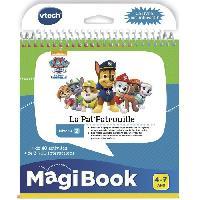 Livre Electronique - Interactif Enfant Magibook - La Pat' Patrouille
