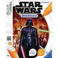 Livre Electronique - Interactif Enfant Tiptoi Star Wars Episode I-VI