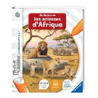 Livre Electronique Enfant - Livre Interactif Enfant TIPTOI Livre Interactif Découverte des Animaux d'Afrique