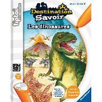 Livre Electronique Enfant - Livre Interactif Enfant TIPTOI Livre Interactif Destination Savoir Dinosaures
