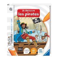 Livre Electronique Enfant - Livre Interactif Enfant TIPTOI Livre Interactif Je Découvre le Vie de Pirate