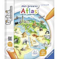 Livre Electronique Enfant - Livre Interactif Enfant TIPTOI Livre Interactif Mon premier Atlas Interactif