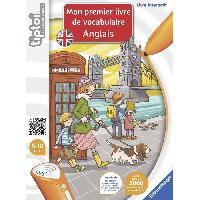 Livre Electronique Enfant - Livre Interactif Enfant TIPTOI Mon premier Livre de Vocabulaire Anglais Interactif - Ravensburger