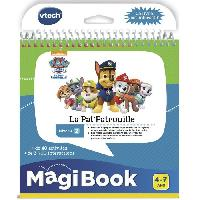 Livre Electronique Enfant - Livre Interactif Enfant VTECH - Livre Interactif Magibook - Pars en Mission avec la Pat' Patrouille
