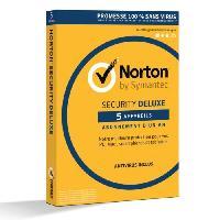 Logiciel A Telecharger NORTON SECURITY DELUXE -5 appareils 1 an-
