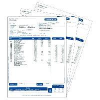 Logiciel Bureautique - Utilitaire Feuilles Pre-imprimees Bulletin de paye
