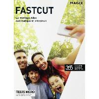 Logiciel Culture - Loisirs Logiciel CD Fast Cut - Pour PC