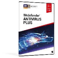 Logiciels Bitdefender Antivirus Plus 2019 - 1 an 3 PC