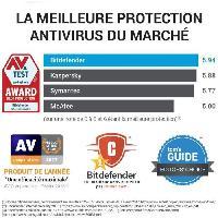 Logiciels Bitdefender Internet Security 2021 - 1 PC - 1 an