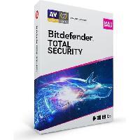 Logiciels Bitdefender Total Security 2021 ? 5 appareils