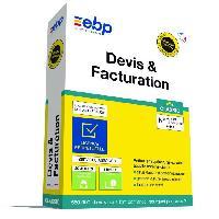 Logiciels EBP Devis & Facturation Classic - Derniere version 2019 - Ntés Légales incluses