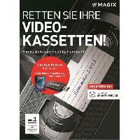 Logiciels MAGIX Logiciel SOS Cassettes vidéo ! - Box - FR