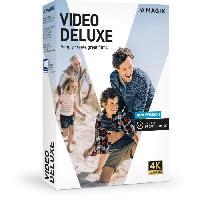 Logiciels MAGIX Video deluxe (2020) Logiciel montage vidéo