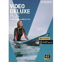 Logiciels MAGIX Video deluxe Plus (2020) Logiciel montage vidéo