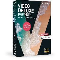 Logiciels MAGIX Video deluxe Premium (2020) Logiciel montage vidéo