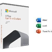 Logiciels MICROSOFT Office Famille & Etudiant 2021 - Achat définitif