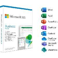 Logiciels Microsoft 365 Business Standard - 1 utilisateur - 5 PC ou Mac + 5 tablettes + 5 smartphones - Abonnement 1 an