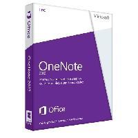 Logiciels Microsoft OneNote 2013 - 1 PC - Carte