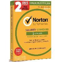 Logiciels NORTON Antivirus Security Standard 3.0 - Français  - 1 User -  1 Device -  24M - Norton By Symantec