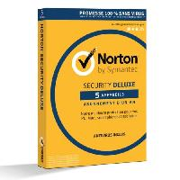 Logiciels NORTON SECURITY DELUXE -5 appareils 1 an-
