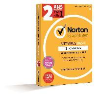 Logiciels Norton Antivirus BAS 1.0 FR 1 U 1 D 24MO PROMO