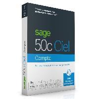 Logiciels Sage 50c COMPTA - 1 an d'assistance
