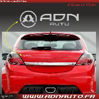 Logo - Sponsors Autocollant ADNAuto - Logo horizontal - Argent - 11.5cm - ADNLifestyle