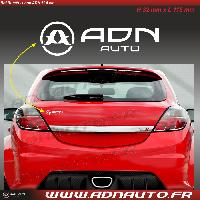 Logo - Sponsors Autocollant ADNAuto - Logo horizontal - Blanc - 11.5cm