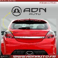 Logo - Sponsors Autocollant ADNAuto - Logo horizontal - Noir - 11.5cm - ADNLifestyle